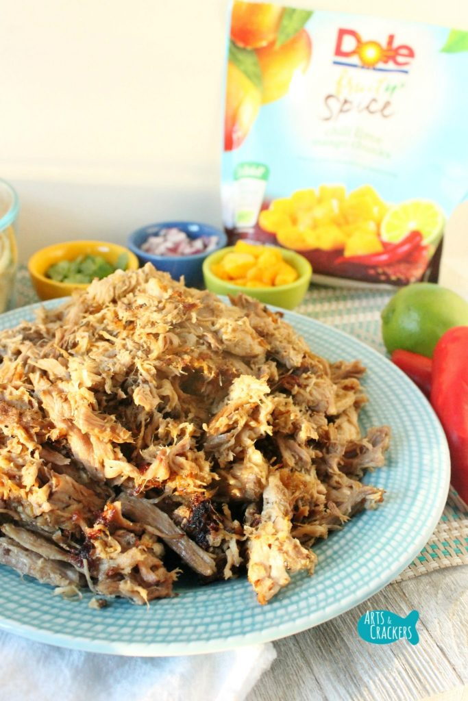 Chili Lime Mango Pork Carnitas with DOLE Fruit n' Spice