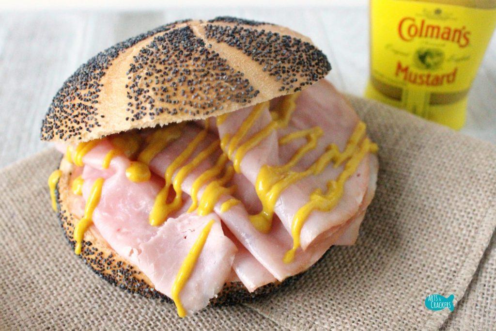 Colman's Mustard on Sandwich