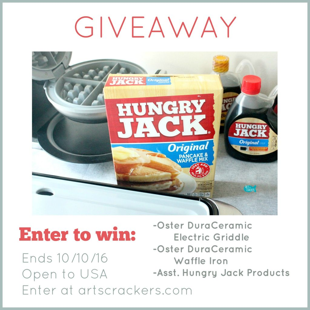 Hungry Jack and Oster Giveaway