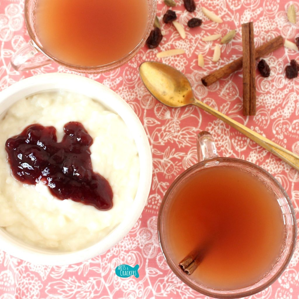 Lingonberry Spiced Punch Square