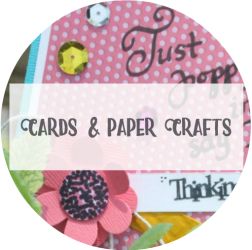 Arts & Crackers Category Cards and Paper Crafts