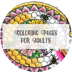 Arts & Crackers Category Coloring Pages for Adults artscrackers.com