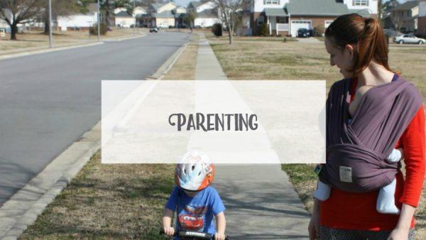 Landing Page - Parenting