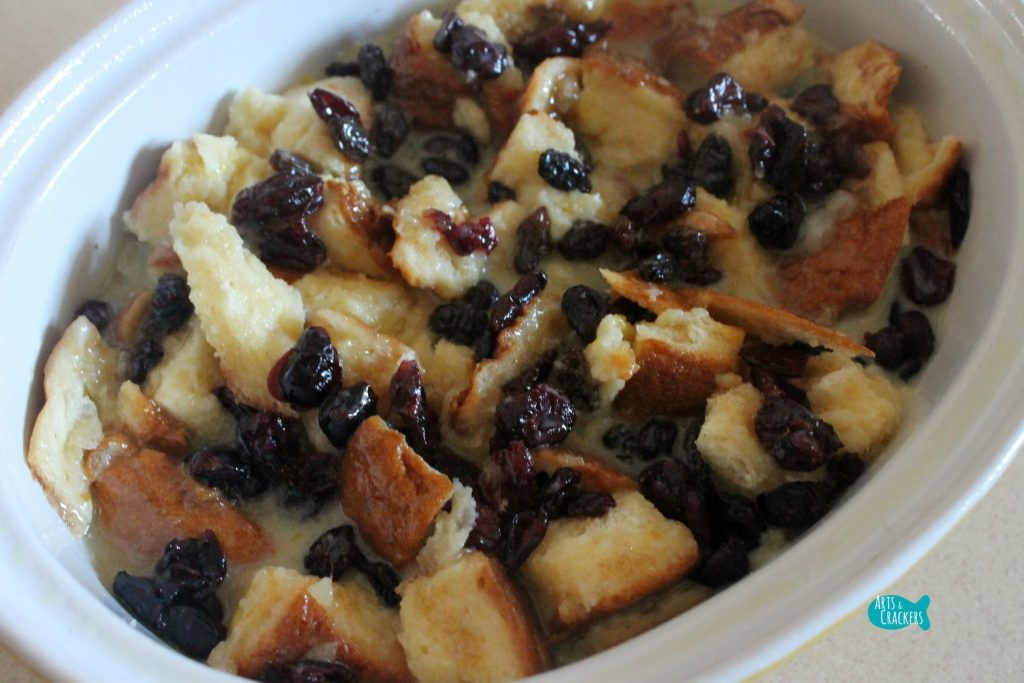 Sweet and Fruity Bread Pudding Step 5