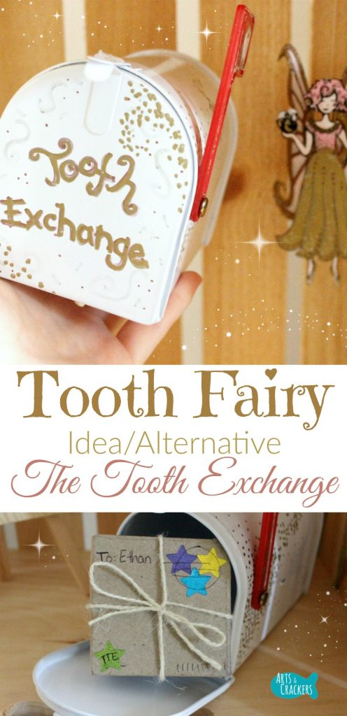 """If you are looking for Tooth Fairy ideas or alternatives, you'll love what we do with the """"Tooth Exchange."""" Learn more about it and how we use it for teaching life skills 