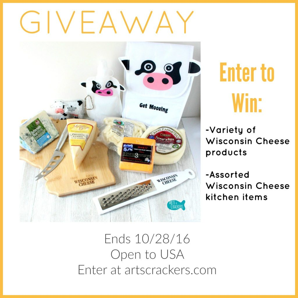 Wisconsin Cheese Giveaway