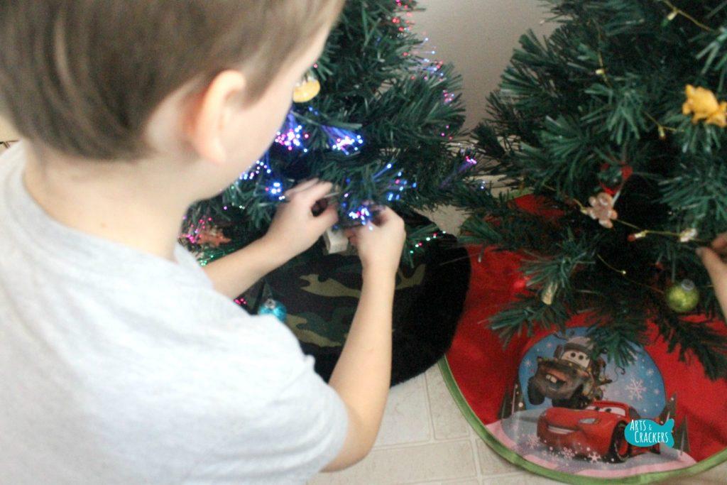 Decorate a Christmas Tree Advent Calendar 1