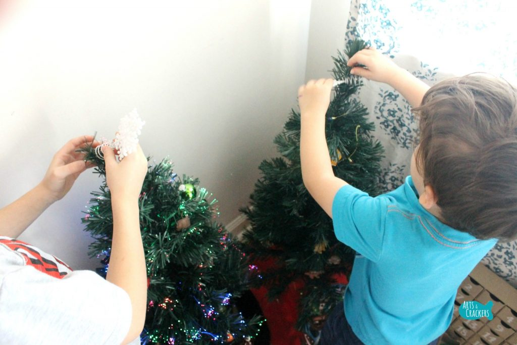 Decorate a Christmas Tree Advent Calendar Tree Topper