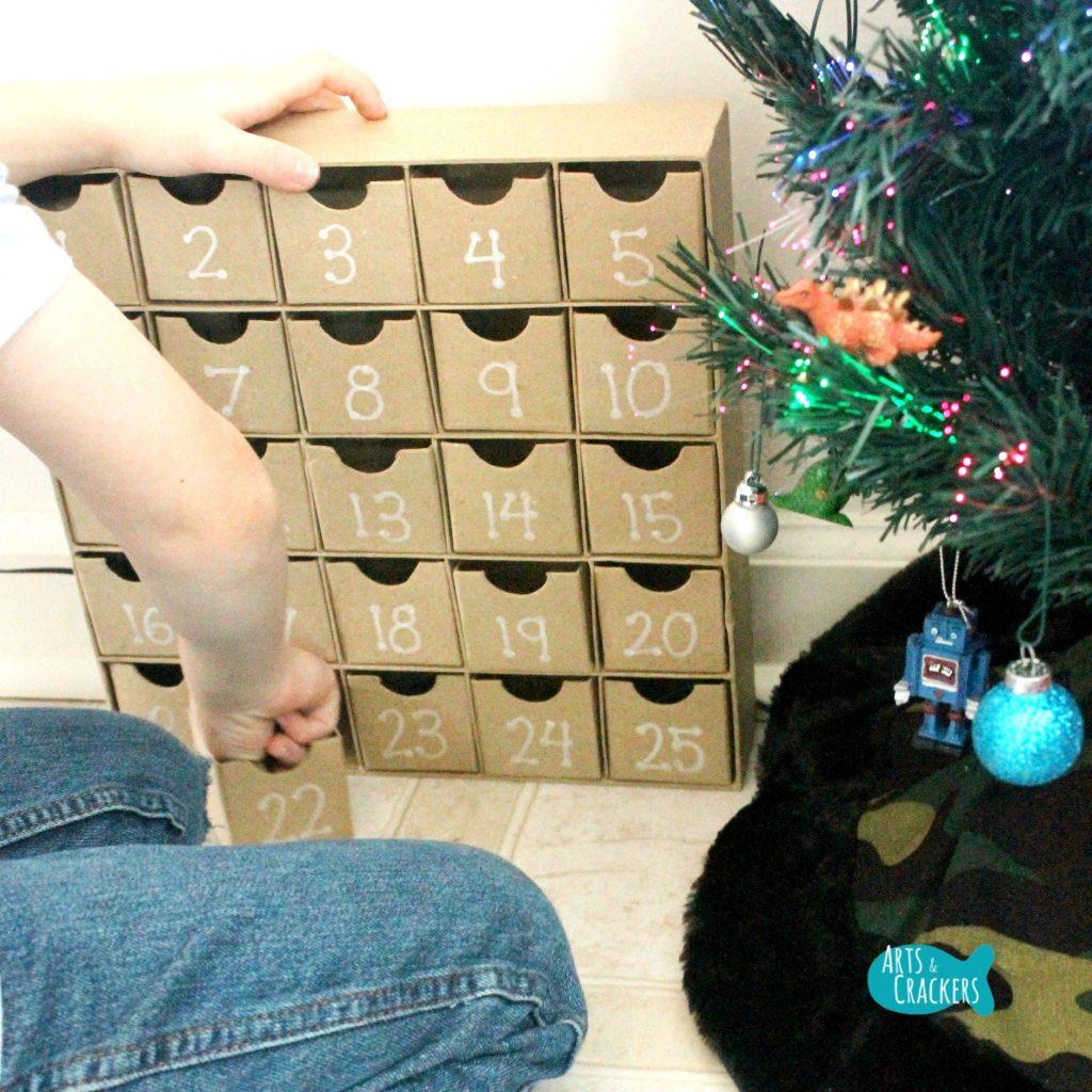 Decorate a Christmas Tree Advent Calendar Square