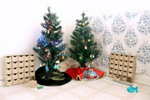 Decorate a Christmas Tree Advent Calendar After
