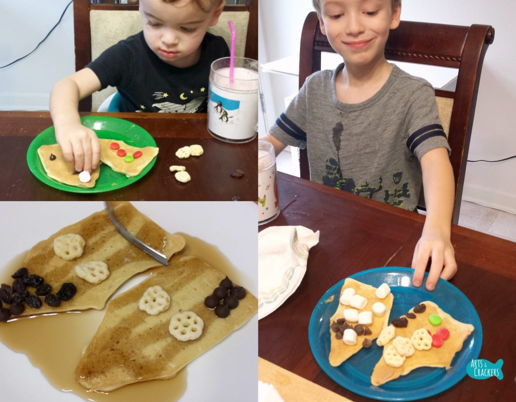 Gingerbread Pancakes Decorating 2015