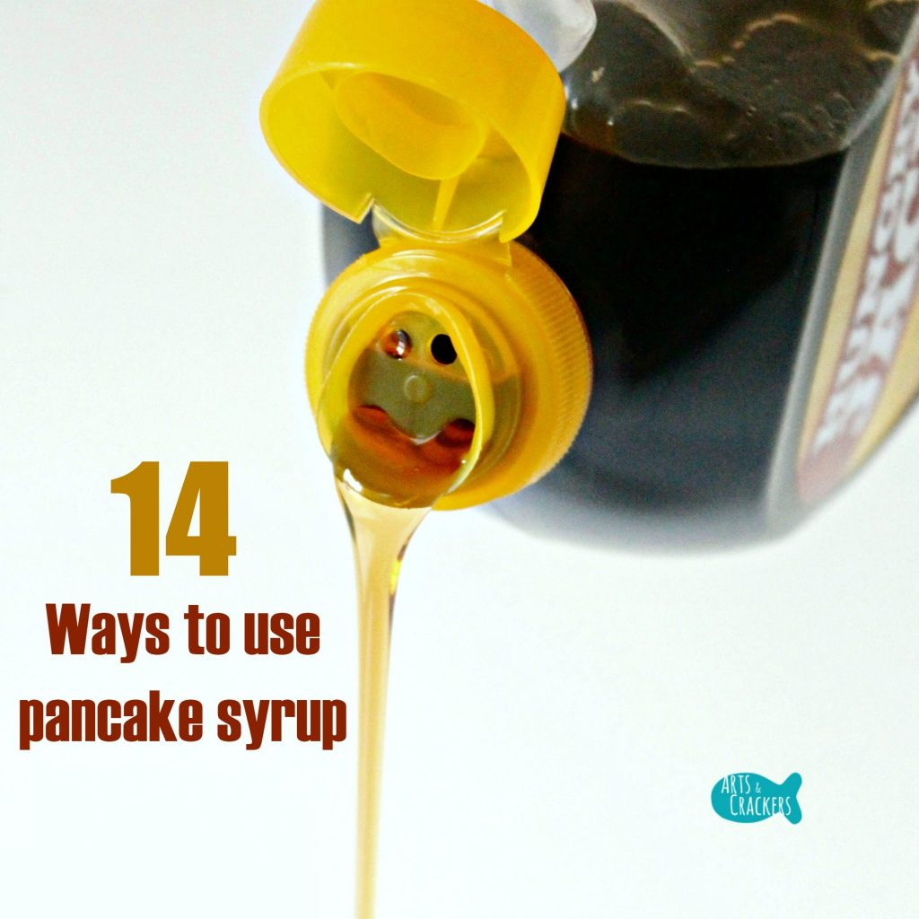 Pancake Syrup Pouring Square