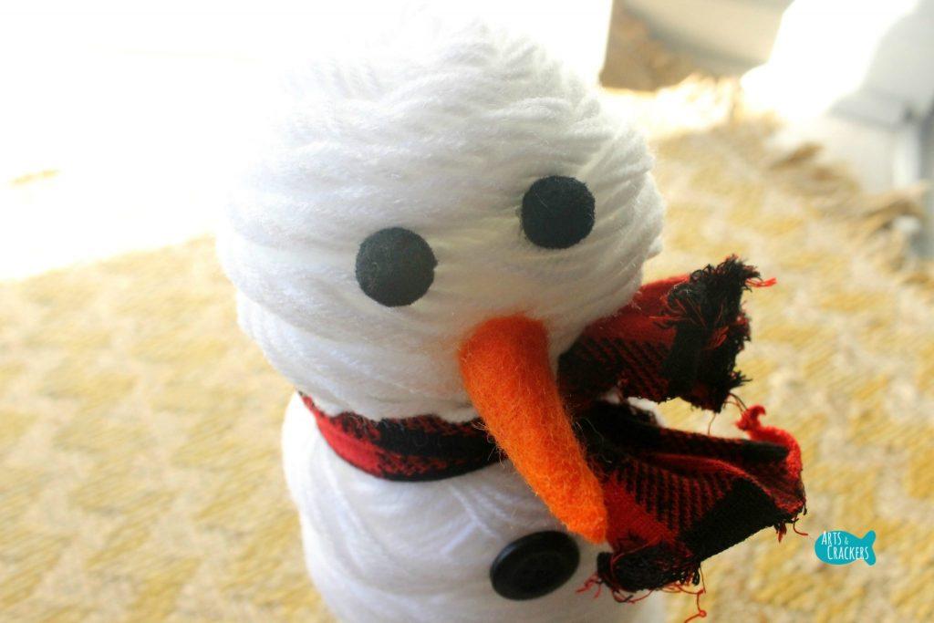 Cute Snowman Yarn 9