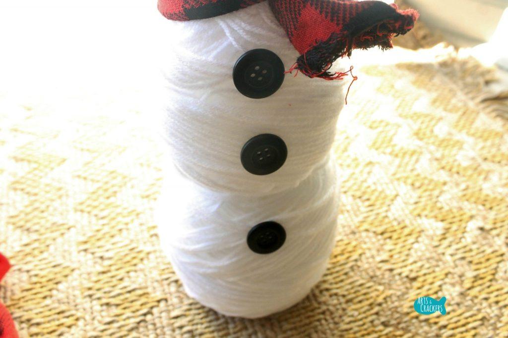 Cute Snowman Yarn 10