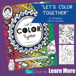 New Coloring Book Release Let's Color Together
