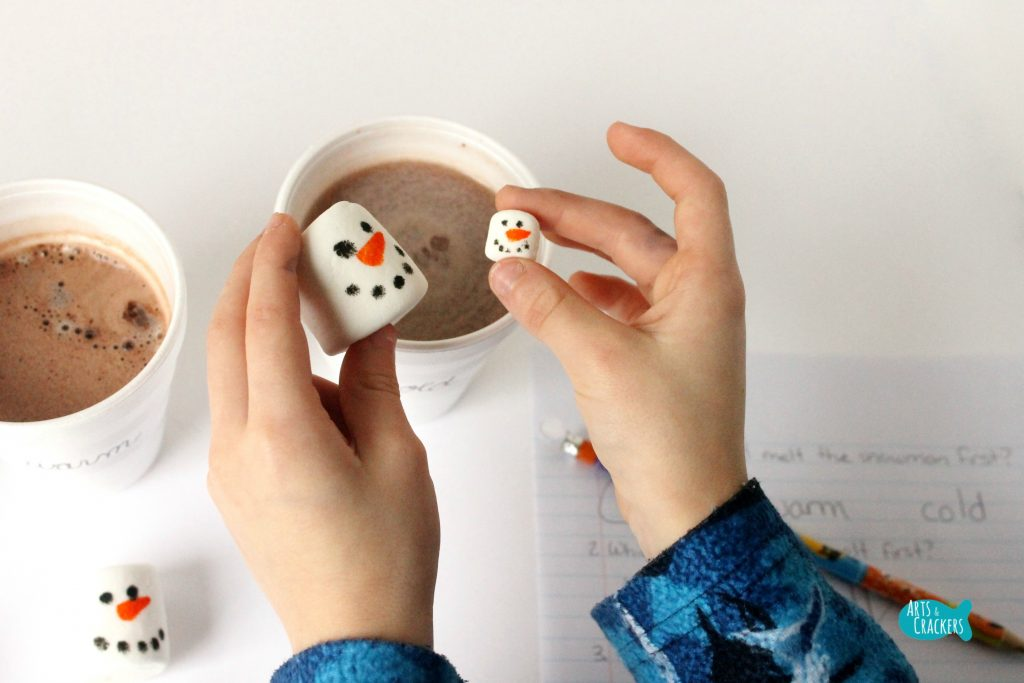 Melting Snowmen Hot Cocoa Science 2