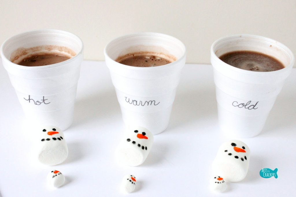 Melting Snowmen Hot Cocoa Science Cover
