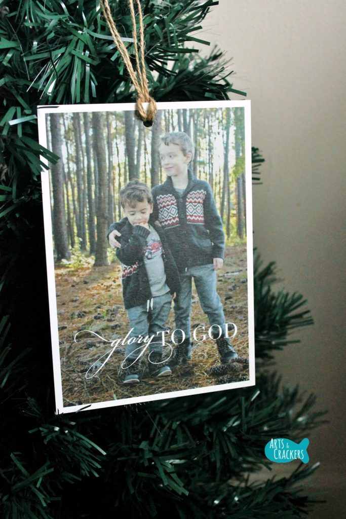 Tips for Sending Christmas Cards Ornament