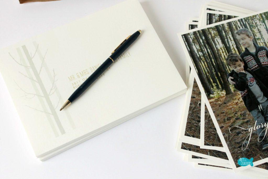 Tips for Sending Christmas Cards Envelope