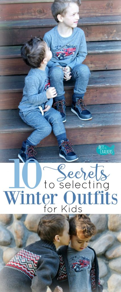 Learn the secrets to picking out cute winter outfits for kids that also keep the kids comfortable | Winter Clothing | Winter | Winter Outfit | Winter Outfits for Kids | Christmas Clothes | Christmas Pictures | Winter Pictures | Warm Clothes | Kids Fashion | Kids Style | OshKosh B'gosh | Winter Wardrobe | Style Guide | Fashion Guide | Kid Clothing | Parenting | Tips | Winter Wear | Layering | Winter Fashion | Winter Fashion for Kids | Christmas Fashion
