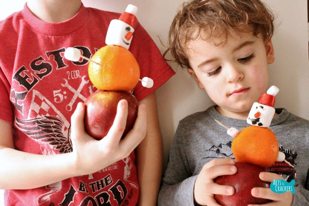 Stocking Stuffer Snowman Building Winter STEAM Activity Boys