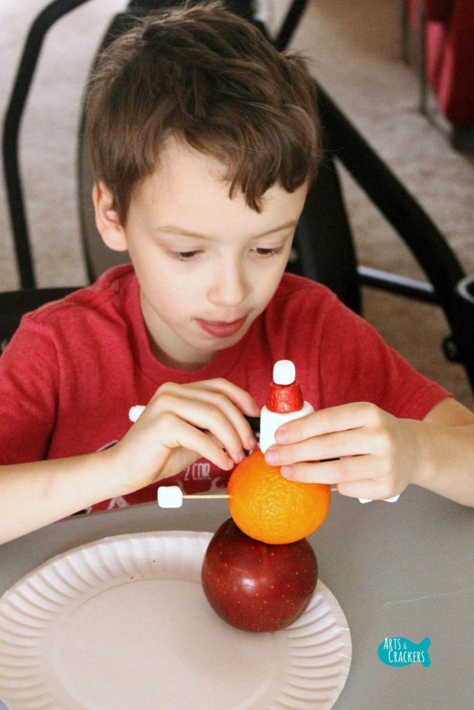 Stocking Stuffer Snowman Building Winter STEAM Activity 3