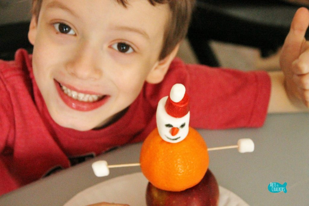 Stocking Stuffer Snowman Building Winter STEAM Activity 6