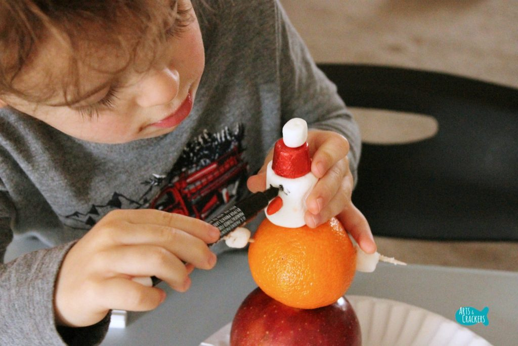 Stocking Stuffer Snowman Building Winter STEAM Activity 7