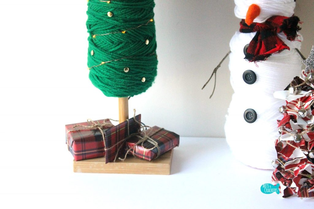 DIY Yarn Christmas Tree 5