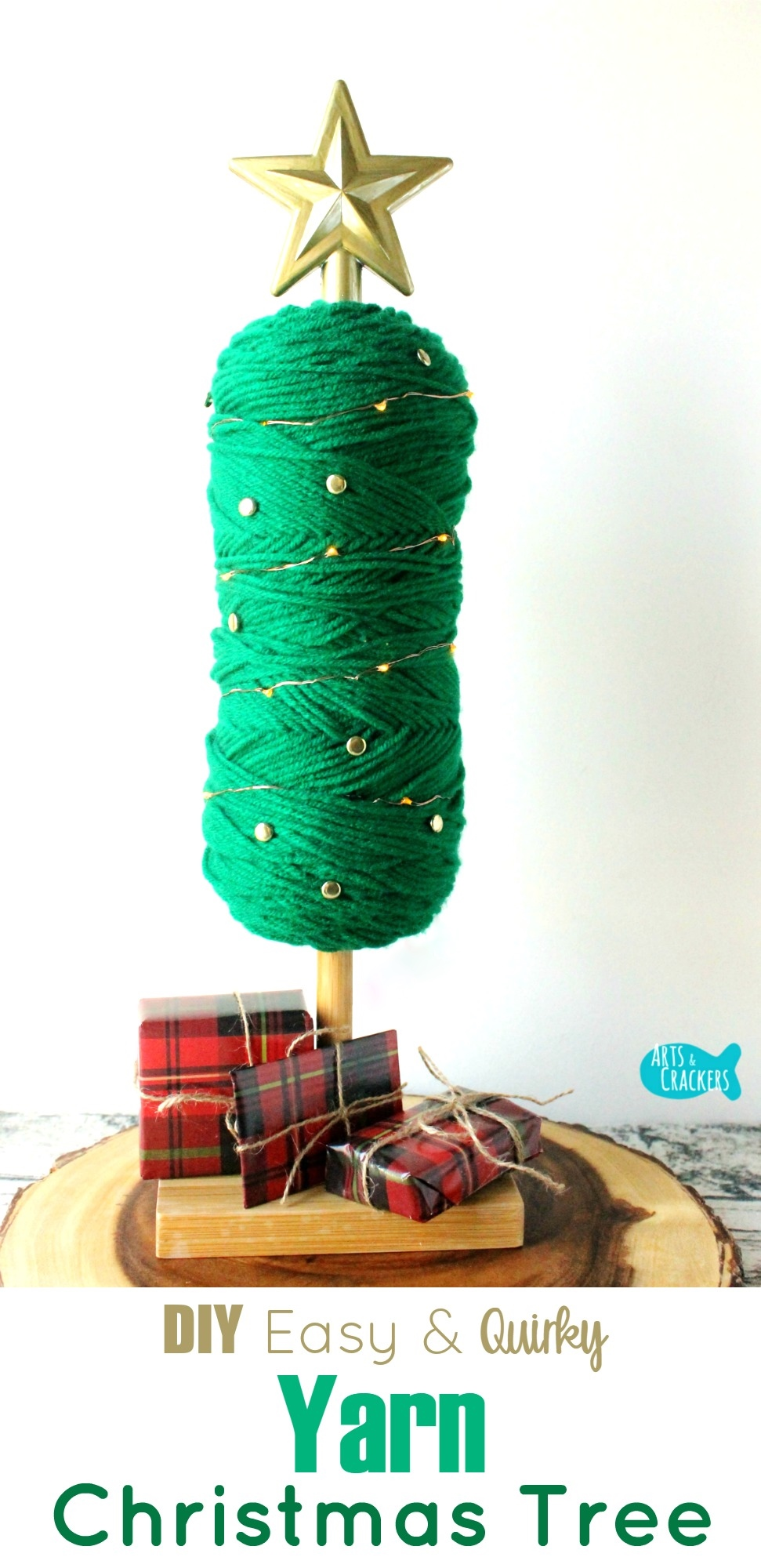 Yarn-Skein-Christmas-Tree-Tutorial David Haye Bench Press