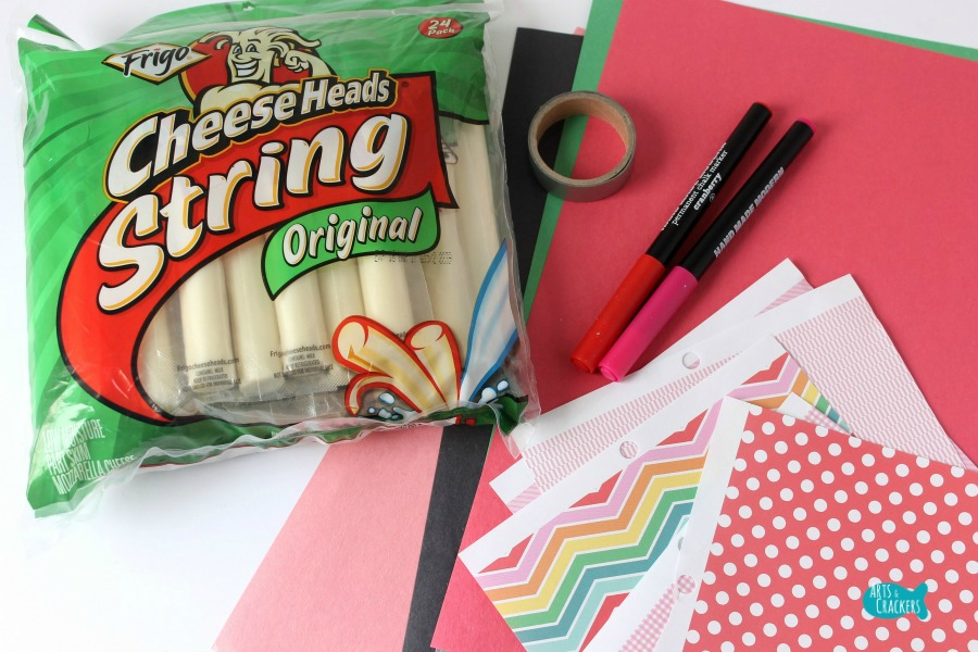 Cupid's Arrow String Cheese Craft 1