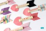 Cupid's Arrow String Cheese Valentine's Day Snack Idea