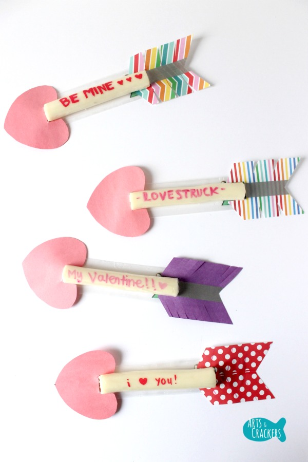 Cupid's Arrow String Cheese Craft Long
