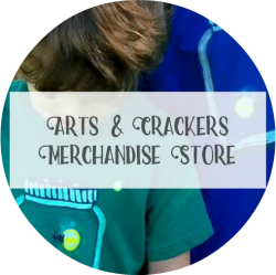 Landing Page - Arts & Crackers Merchandise Store Medium