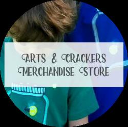 Landing Page - Arts & Crackers Merchandise Store Medium