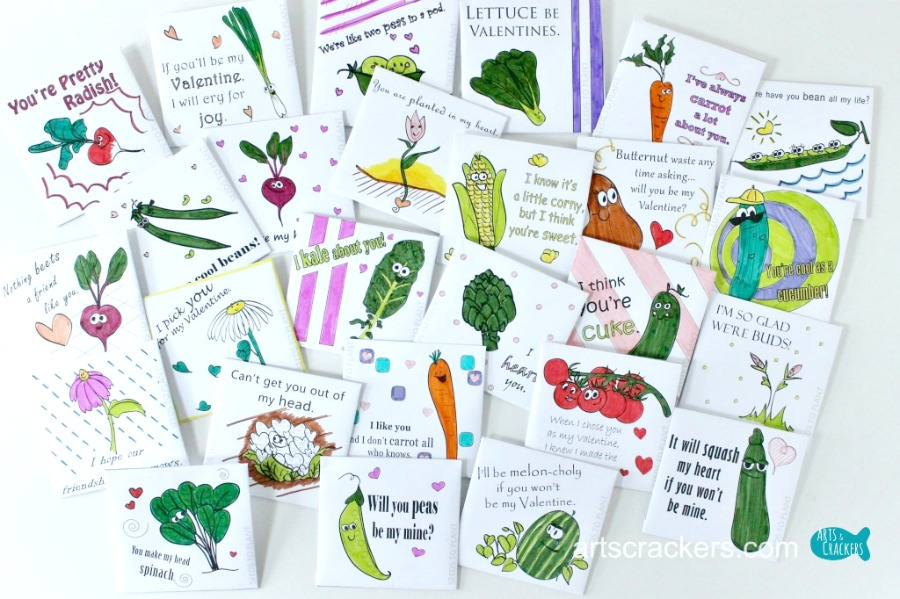 Printable Coloring Page Seed Packet Valentines Day Envelopes