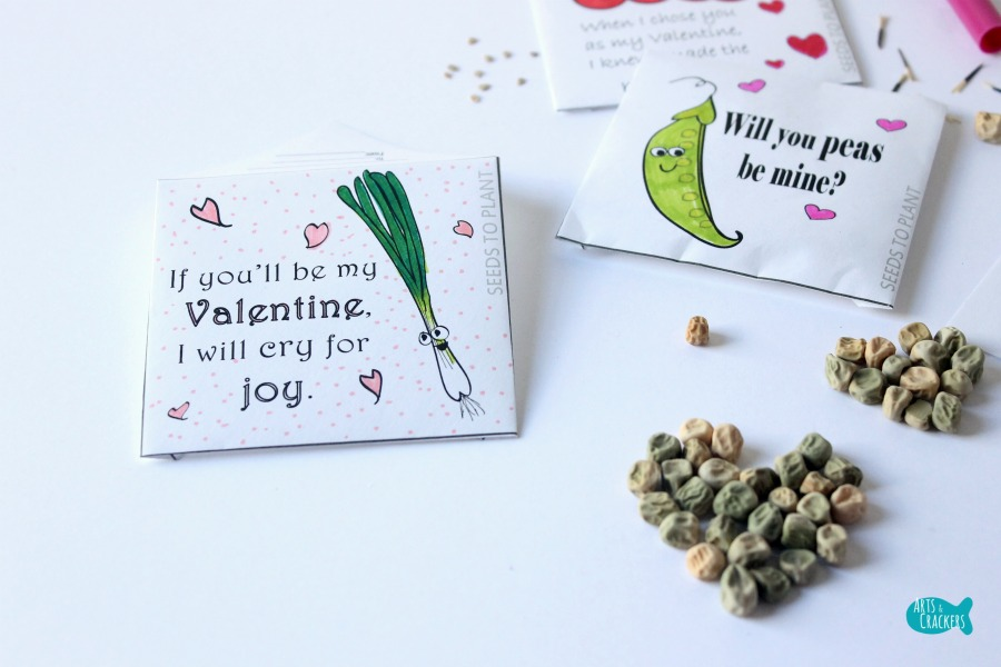 Seed Packet Valentines Close