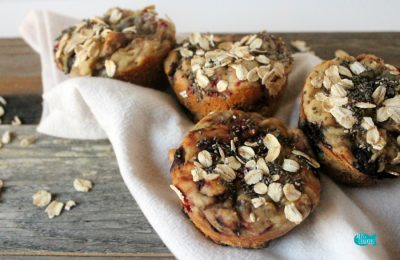 Gluten Free Mixed Berry Breakfast Muffins Recipe 2