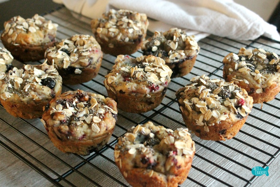 Gluten Free Mixed Berry Breakfast Muffins Recipe 6