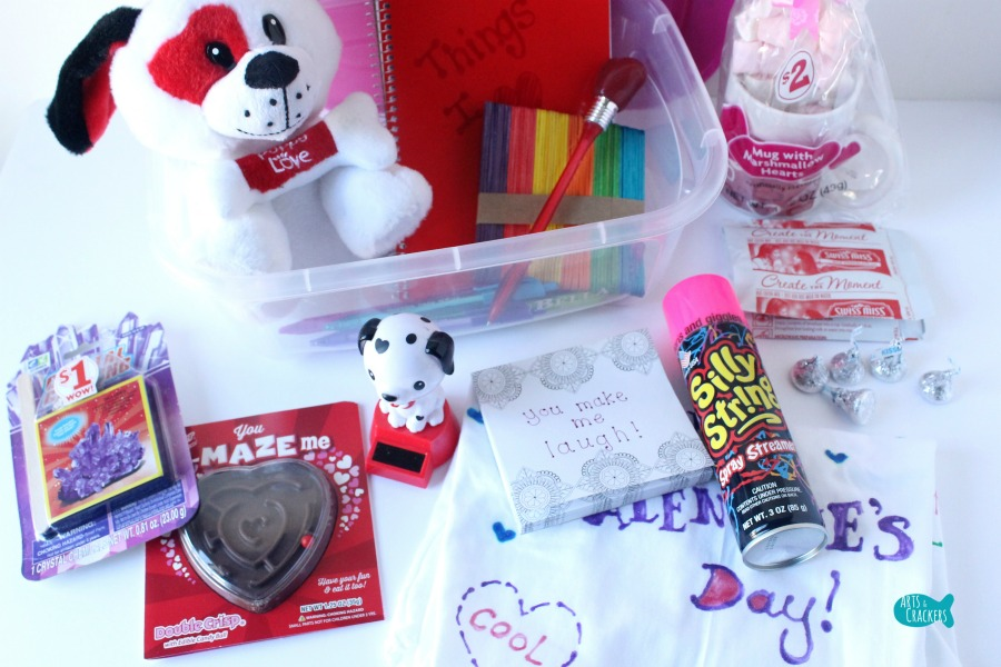 Heart Box Valentine's Day Gift for Kids Bins