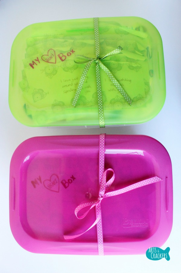 Heart Box Valentine's Day Gift for Kids Boxes