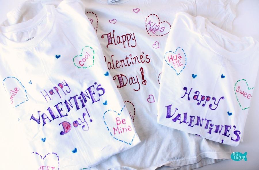 Heart Box Valentine's Day Gift for Kids Shirts