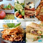 Meal Planning Menu | Overlapping Ingredients | Week 4