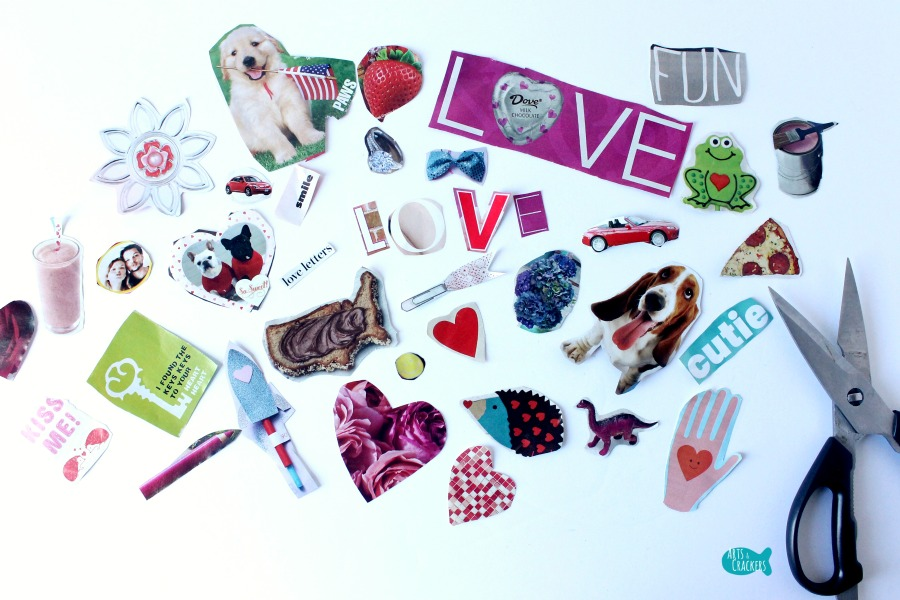 Valentine's Day Collage Heart 4