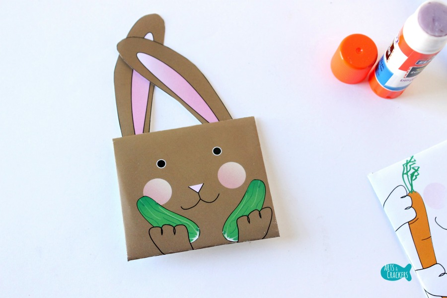 Bunny Seed Packet Envelopes for Spring 5