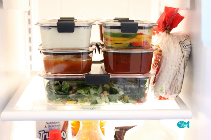 Easy Peasy 3-Day Meal Prep Plan and Tips for Dinner Fridge