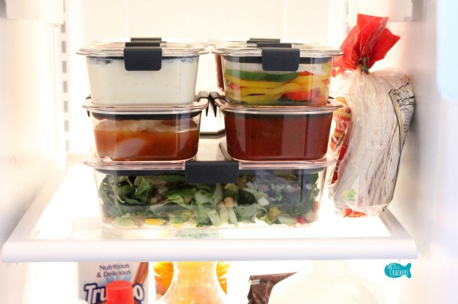 Easy Peasy 3-Day Meal Prep Plan and Tips for Dinner Fridge