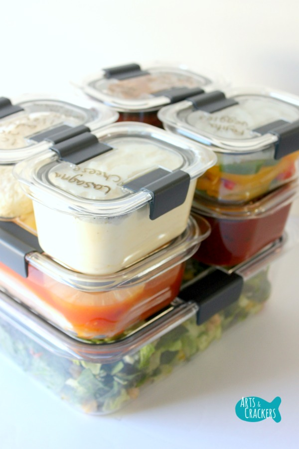 Easy Peasy 3-Day Meal Prep Plan and Tips for Dinner Stack Long