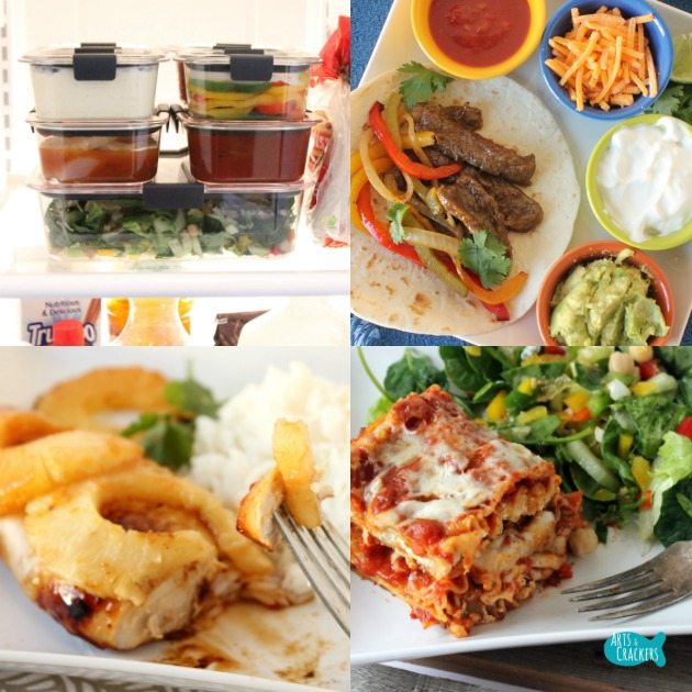 Easy Peasy 3-Day Meal Prep Plan and Tips for Dinner Square