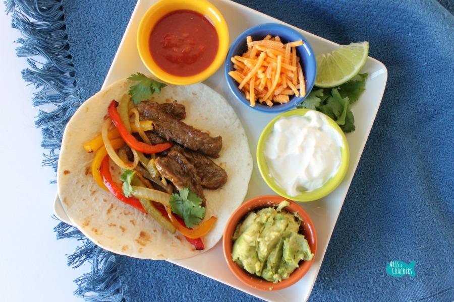 Easy Beef Fajitas Recipe Quick Dinner Cover